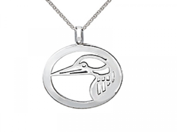 LOON PENDANT by The Hunt House Custom Jewellery