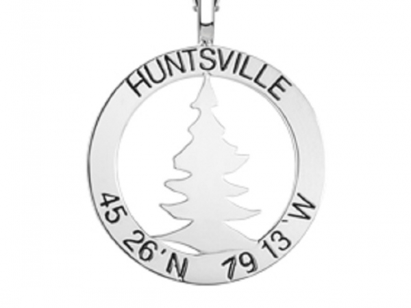 TREE CO-ORDINATE PENDAT by The Hunt House Custom Jewellery