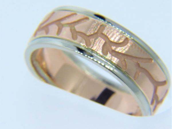GENTS CUSTOM WEDDING BAND by The Hunt House Custom Jewellery